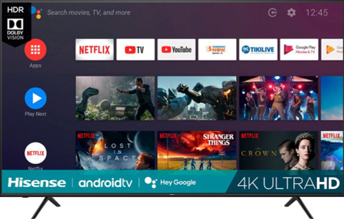 """Hisense 75"""" inch 4K Smart Android LED HD TV with HDR 75H6570G"""