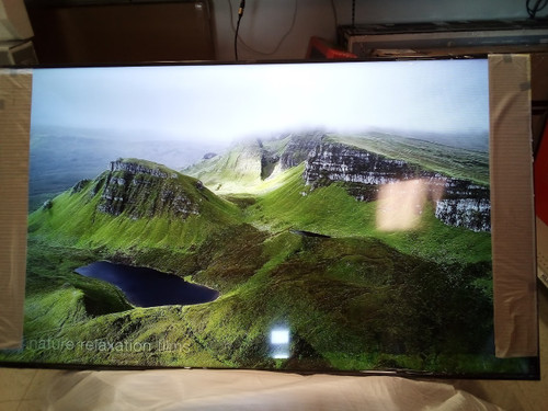 """Hisense 75"""" inch 4K Smart Android LED HD TV with HDR 75H6570G- Dark Lines on Screen"""