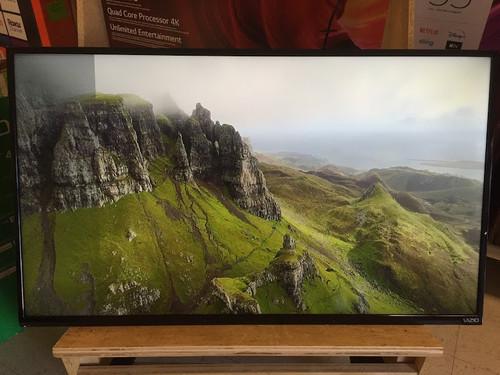 "VIZIO 43"" Inch FHD LED Smart 1080p TV D-Series D43fx-F4 - Left Screen Shadow"