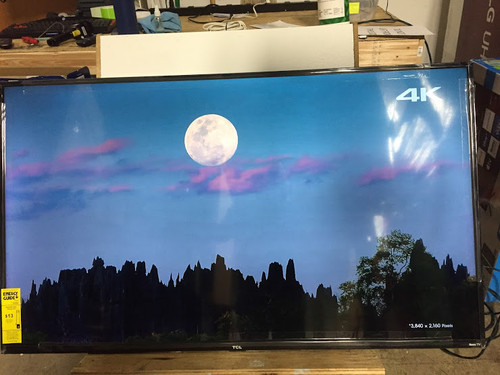 "TCL 55"" 4 Series HDR 4K UHD Smart TV - 55S421 - Shadow Spot & No Legs"