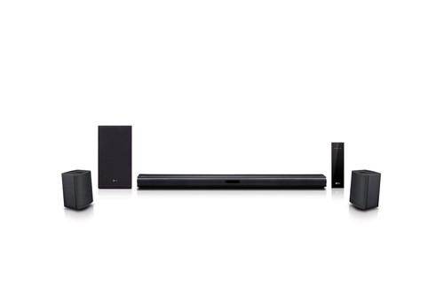 LG 4.1 Channel Soundbar with Surround Sound Speakers - SNC4R