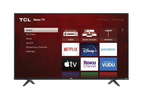 "TCL 50"" Class 4K (2160p) Smart Roku LED TV (50S431)"