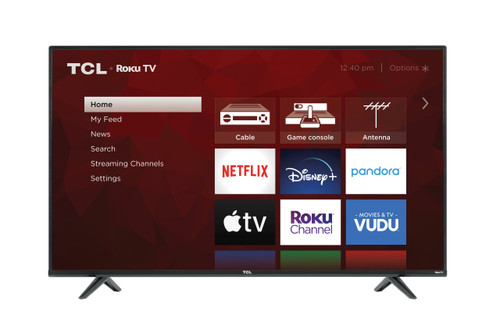"TCL 55"" Inch 4K (2160p) Smart Roku LED TV (55S431)"
