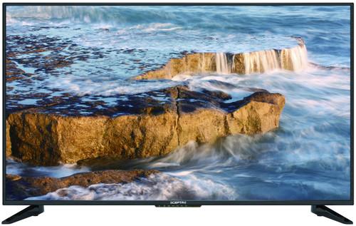 "Sceptre 50"" Inch 4K UHD LED TV U515CV-U - Line On Screen, Remote Sensor Issues, No Legs, As Is"