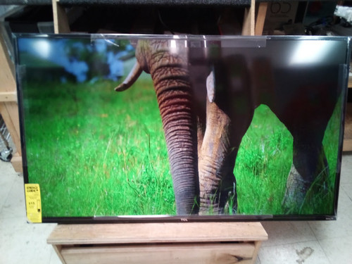 """TCL 50"""" Class 4K (2160p) Smart LED TV (50S431)- Shadow on top half of screen"""