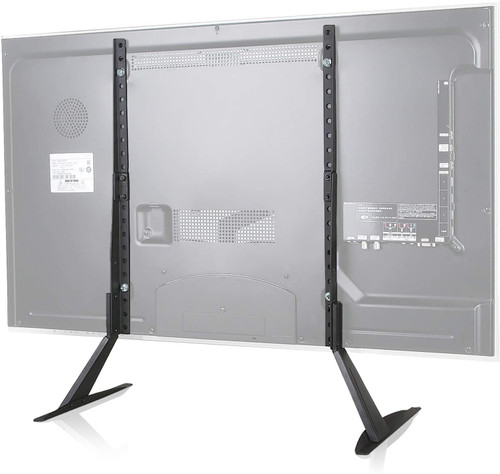 """HiLine Standard Universal TV Stand Legs Tabletop 22"""" - 65"""" Inch up to 110 LBS"""