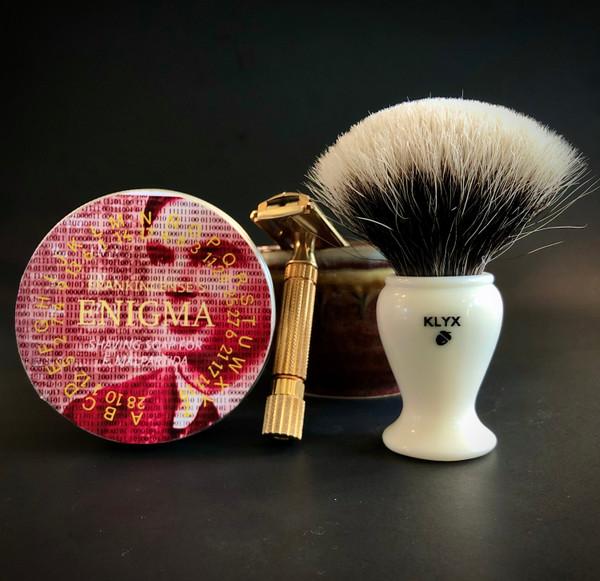 Klyx Shaving Brush.