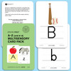 Pre-K Alphabet and Phonics First® Key Word Cards