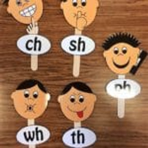 Multisensory Monday: H Brothers Digraphs