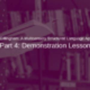 Orton-Gillingham Part 4: Lesson Demonstration