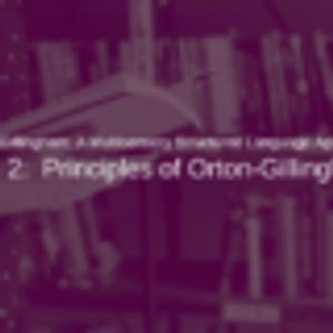 Orton-Gillingham Part 2: Principles of Orton-Gillingham