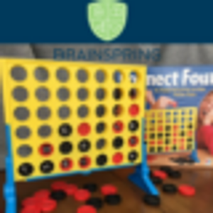 Multisensory Monday- Connect Four Spelling