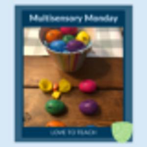 Multisensory Monday: Ending Blends Plastic Eggs