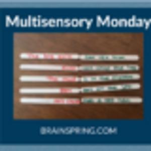Multisensory Monday: Fluency Sentences