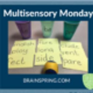 Multisensory Monday: Prefix Ball Toss!