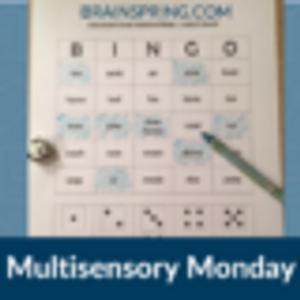 Multisensory Monday: Vowel Intensive BINGO