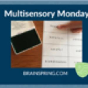 Multisensory Monday: Thumbprint Syllabication