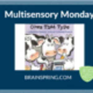 """Multisensory Monday: """"Click, Clack Moo"""" with Diphthong OW"""