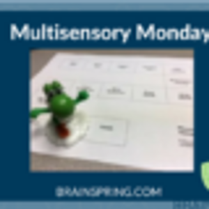 Multisensory Monday: Simple Game Board!