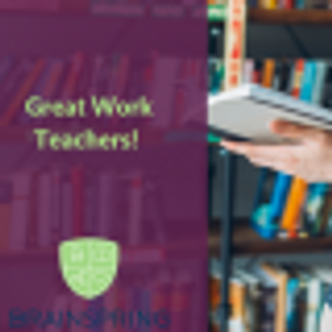 Great Job Teachers!