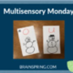 Multisensory Monday: Vowel Drill Alternative