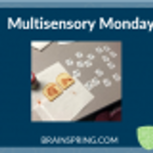 """Multisensory Monday:  """"Bread Spread"""""""