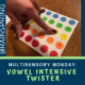 Multisensory Monday: Vowel Twister
