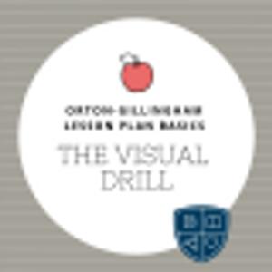 Orton-Gillingham Lesson Basics: The Visual Drill