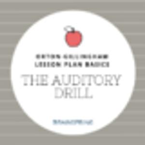 Orton-Gillingham Lesson Basics: The Auditory Drill