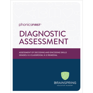 Phonics First Diagnostic Assessment of Decoding and Encoding