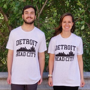 Brainspring Detroit Read City Silk Screen Tee