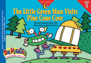 Book #15: The Little Green Man Visits Pine Cone Cove