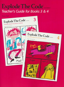 Explode the Code Teacher's Guide Books 3 & 4