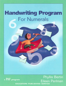 Handwriting Program for Numerals