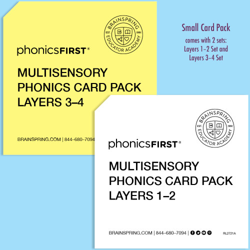 Phonics First Small Card Pack
