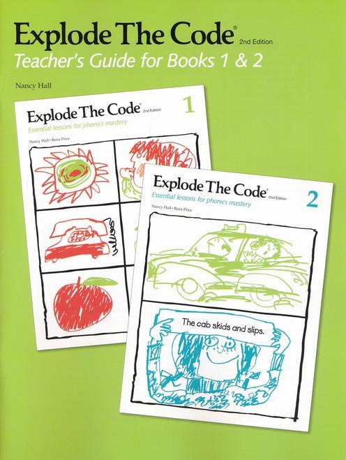 Explode the Code Teacher's Guide-Books 1 & 2