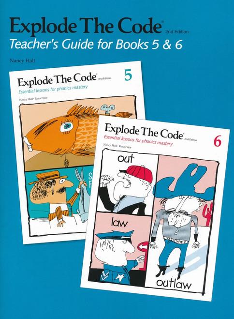 Explode the Code Teacher's Guide Books 5 & 6