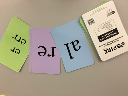 Large Phonogram Cards (Levels 6-8)