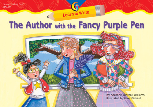 The Author with the Fancy Purple Pen