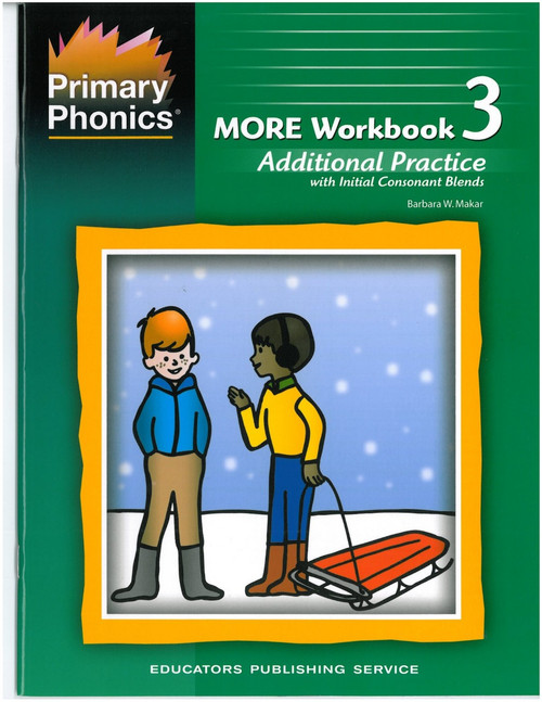 More Primary Phonics Workbook 3