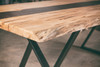 Live Edge Maple Dining Table
