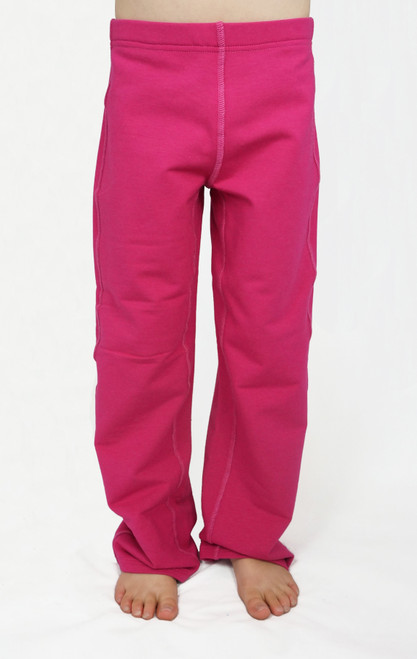 SIZE 4// Fleece lounge pant, pink- Discontinued