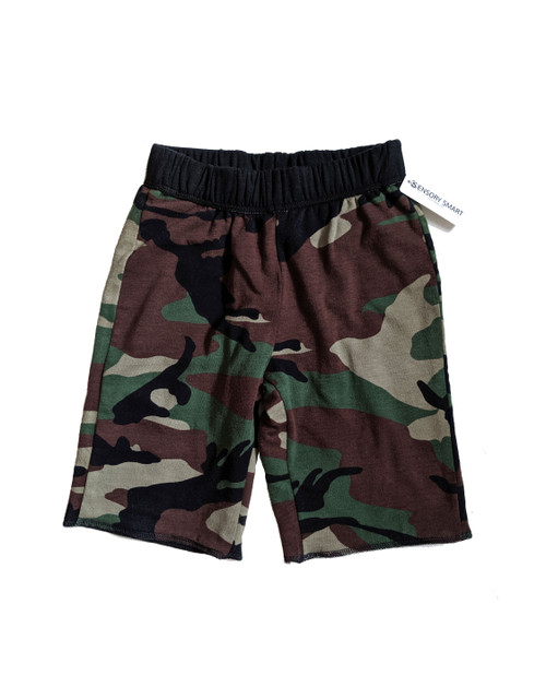 SIZE 6// Lined shorts, Camo print- Sample