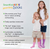 SmartKnitKIDS® Seamless Sensitivity Socks// Single Pair, White