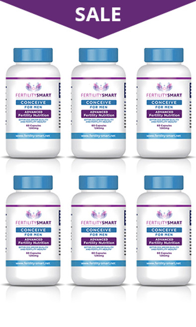Conceive for Men - 6 Month Supply
