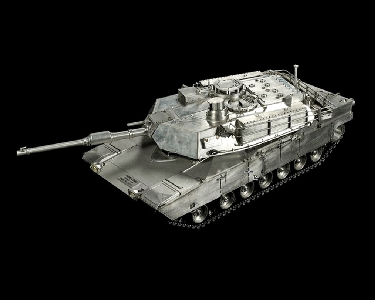 1 8 Large Scale US M1A2 Abrams RC Tank Airsoft 24GHz 100 Metal