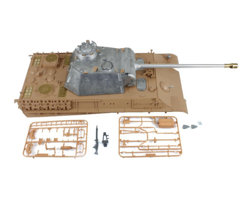 1/16 Torro Panther G RC Tank Metal Turret with Plastic Upper Hull Airsoft