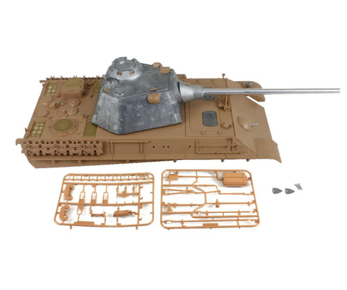 1/16 Torro Panther F RC Tank Metal Turret with Plastic Upper Hull Airsoft