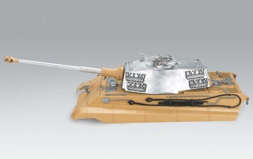 1/16 Torro King Tiger RC Tank Metal Turret & Upper Hull Airsoft Version