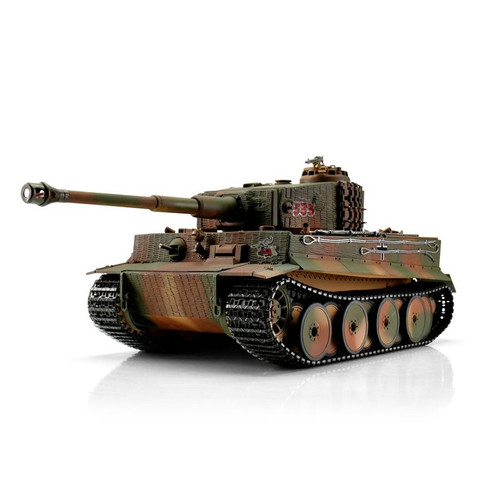 1/16 Torro Tiger I Mid Version RC Tank 2.4GHz Infrared Metal Edition PRO with Barrel Recoil